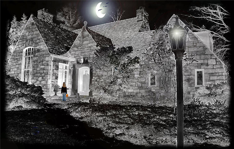 Halloween Photograph - Trick Or Treat by Dyle   Warren