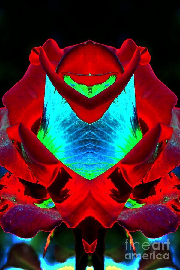 Triffid Digital Art - Triffid by Lorles Lifestyles