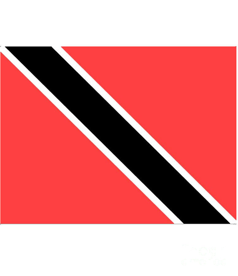 Trinidad Digital Art - Trinidad And Tobago Flag by Frederick Holiday