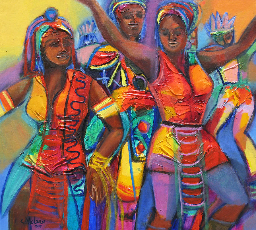 Trinidad Carnival Paintings Fine Art America