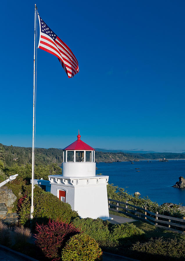 American Lighthouse Tower Stock Photos - Image: 33959223 |Lighthouse Flag Efficiency