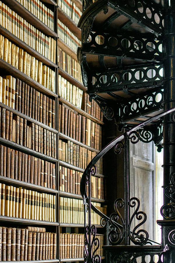 Dublin Photograph - Trinity Collage Library Dublin by Dick Wood