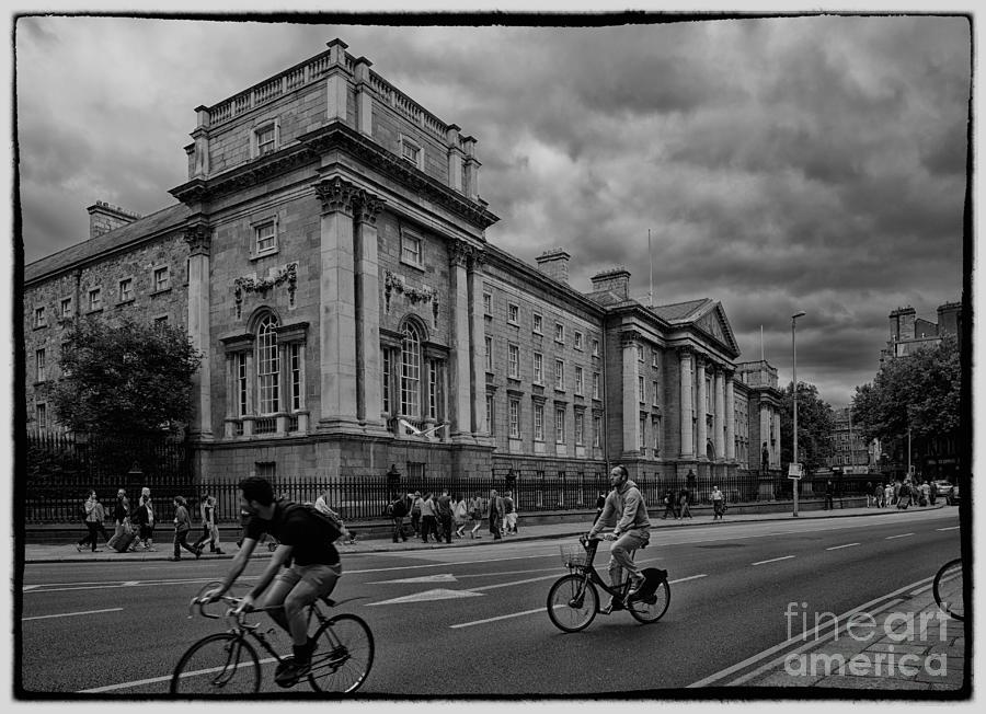 Trinity Photograph - Trinity College by Gabriela Insuratelu