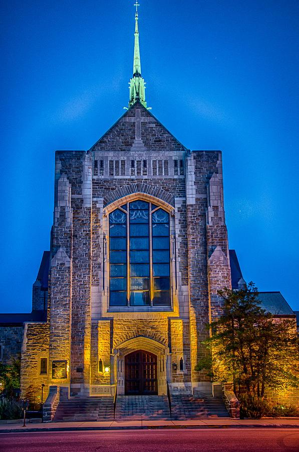 Trinity English Lutheran Church Fort Wayne Photograph by ...