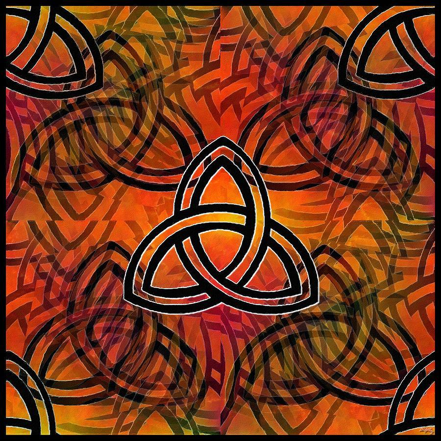 Godhead Digital Art - Trinity by Glenn McCarthy Art and Photography