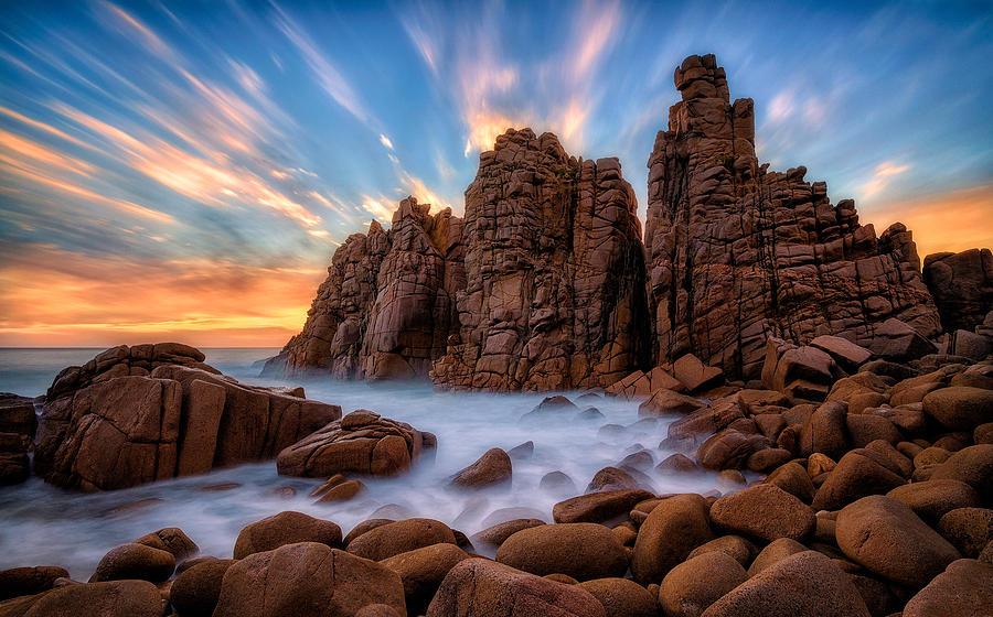Pinnacles Photograph - Trinity by Lincoln Harrison