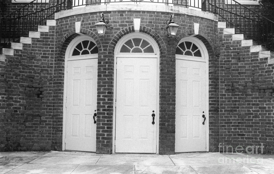 Doors Photograph - Trinity by Michelle OConnor