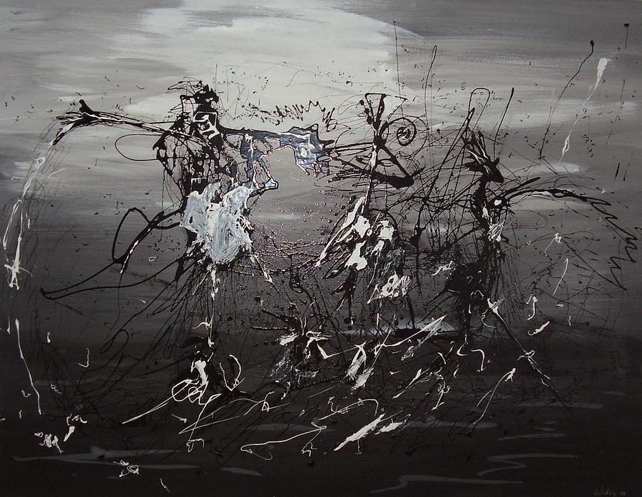 Trio Painting - Trio by Waldemar  Van Wyk