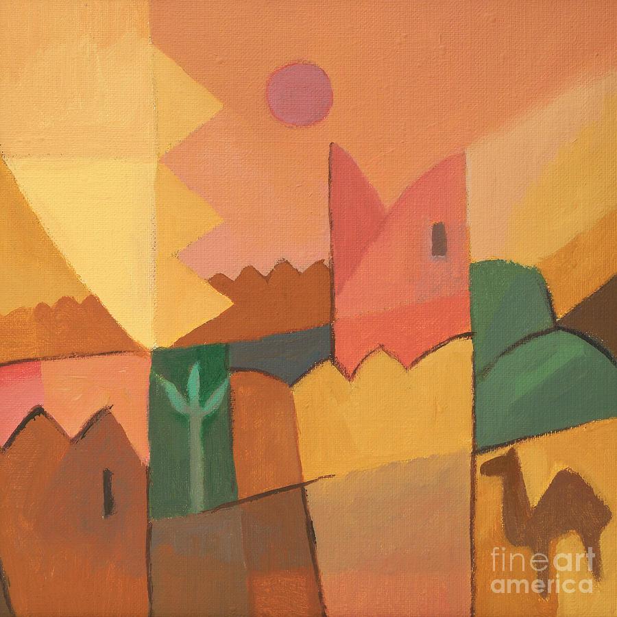Tunisia Painting - Trip To Tunisia by Lutz Baar