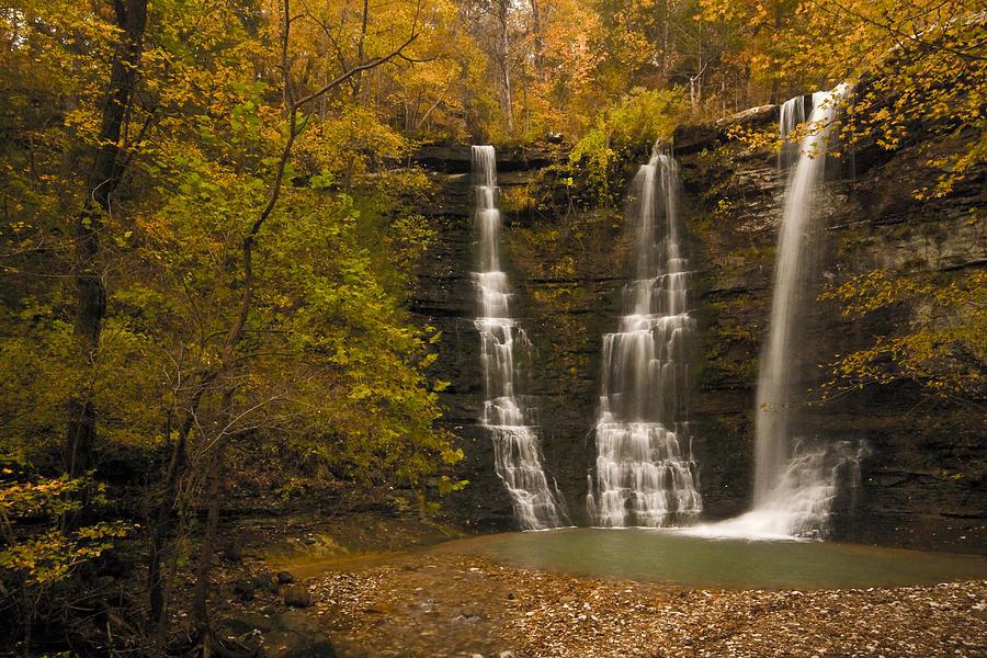 Landscape Photograph - Triple Falls by Ryan Heffron