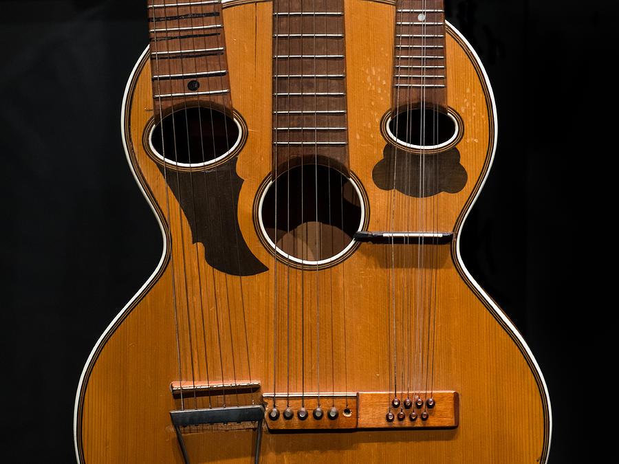 Nashville Photograph - Triple-neck Instrument by Glenn DiPaola