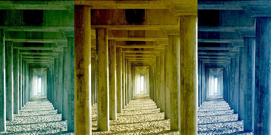 Beach Decor Photograph - Triple Perspective by Ben and Raisa Gertsberg