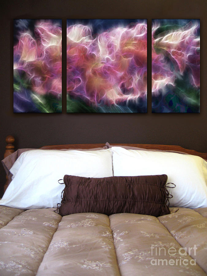 Triptych Painting - Triptych Display Sample 01 by Peter Piatt