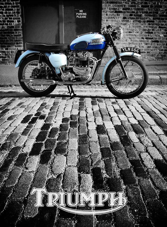Triumph Bonneville Photograph - Triumph Bonneville by Mark Rogan