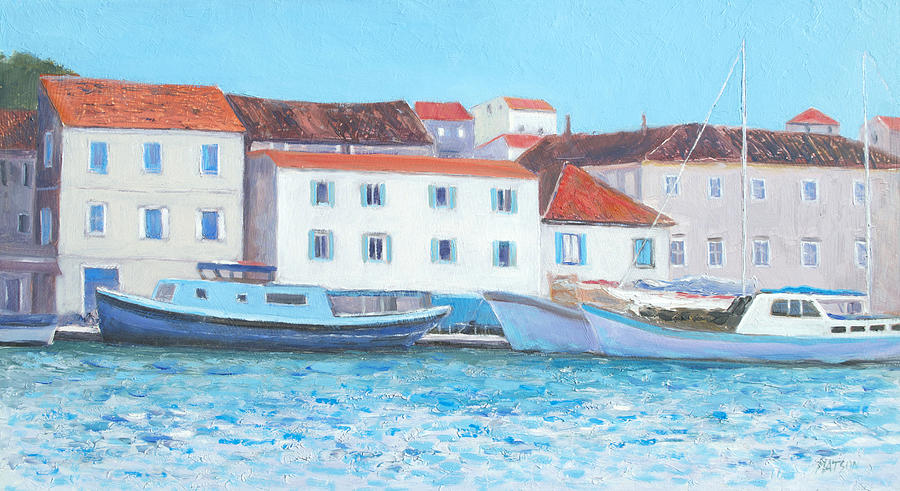 Trogir Painting - Trogir Croatia by Jan Matson