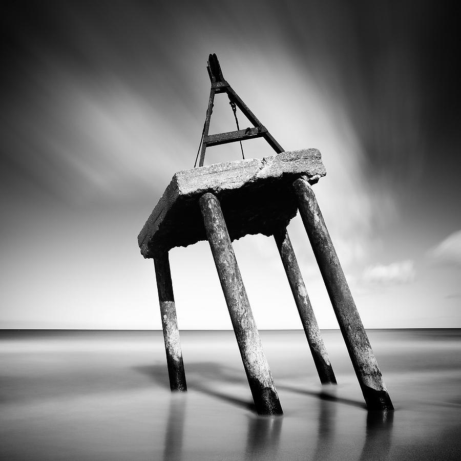 Long Exposure Photograph - Trojan Horse by Krzysztof Jedrzejak