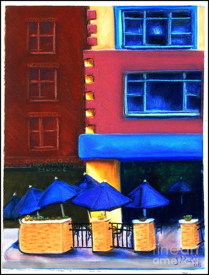 Pastel Pastel - Trolleys by Janet Hull