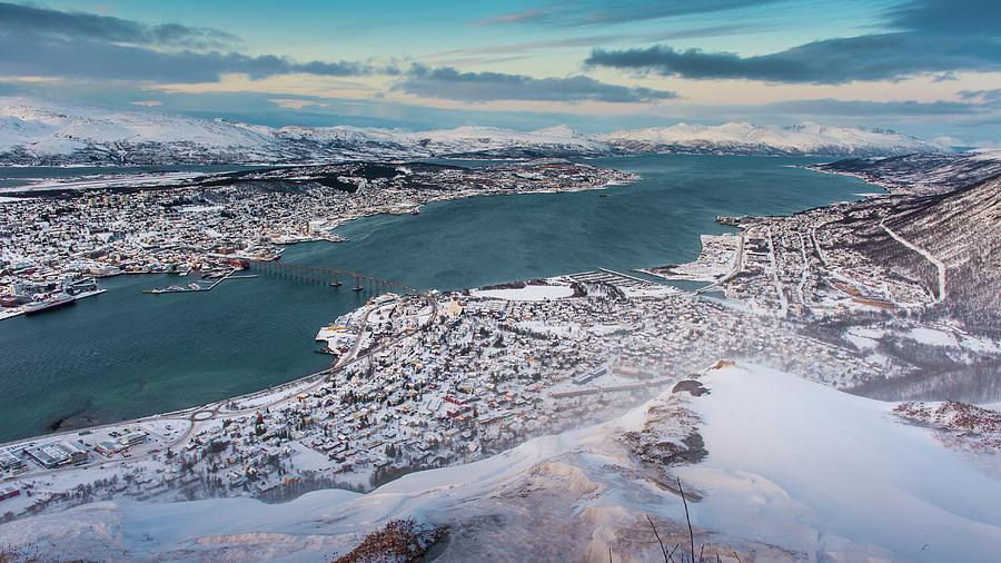 Tromso City Photograph by Coolbiere Photograph