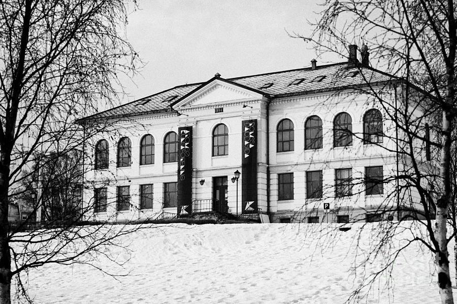 Tromso Photograph - Tromso Gallery Of Contemporary Art Troms Norway Europe by Joe Fox