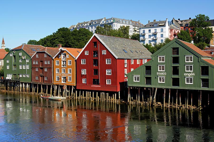 Trondheim City, Norway Photograph by Andrea Pistolesi