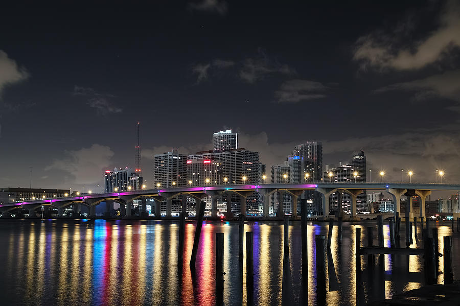 Trooper Bridge Miami by Gary Dean Mercer Clark