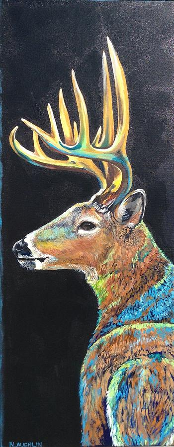 Trophy Buck by Kathy Laughlin