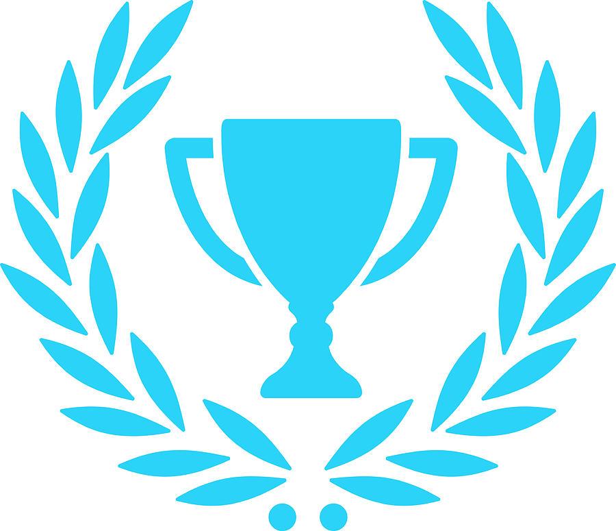 Trophy With Laurel Wreath Digital Art by Chokkicx