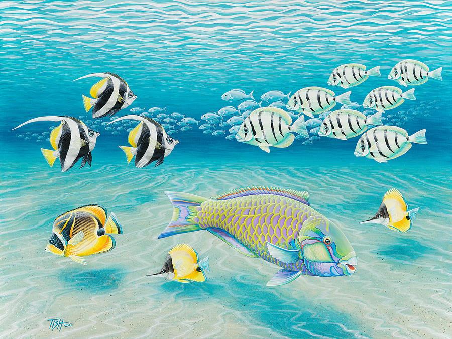 Tropical Fish by Tish Wynne