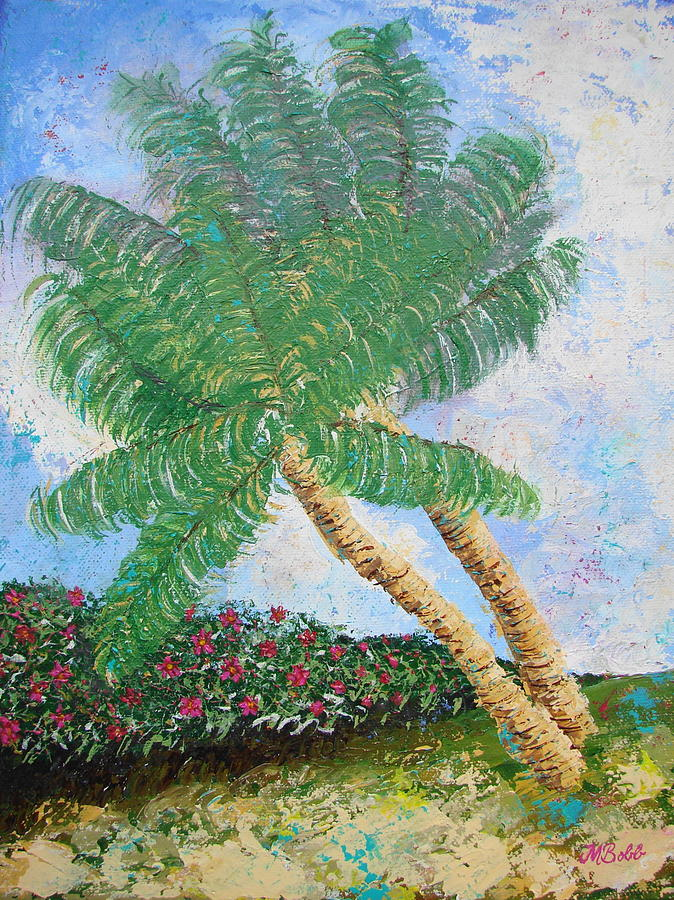 Tropical Painting - Tropical Flair by Margaret Bobb