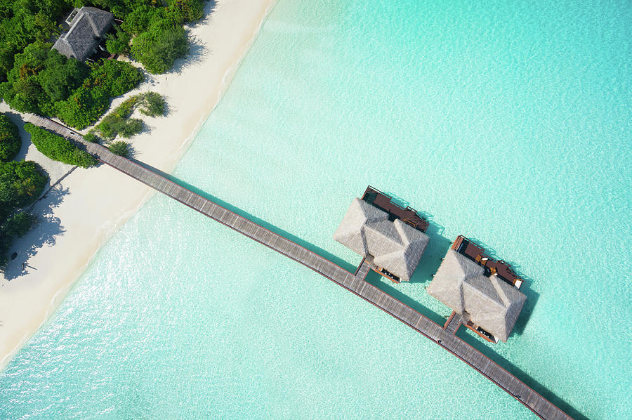 Tropical Hideaway From Above Photograph by Amriphoto