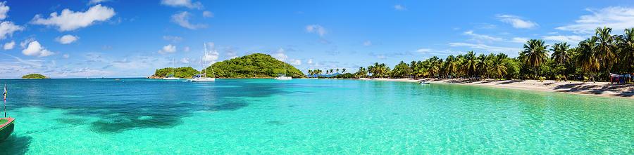 Tropical Shoreline Landscape At Salt Photograph by Flavio Vallenari