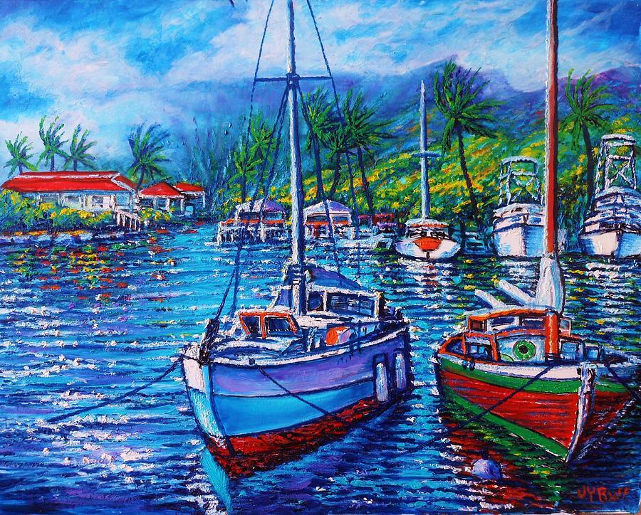 Tropical Splender Painting by Joseph   Ruff