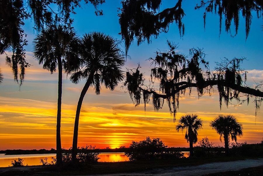 Sunset Photograph - Tropical Sunset by Bob Mulligan