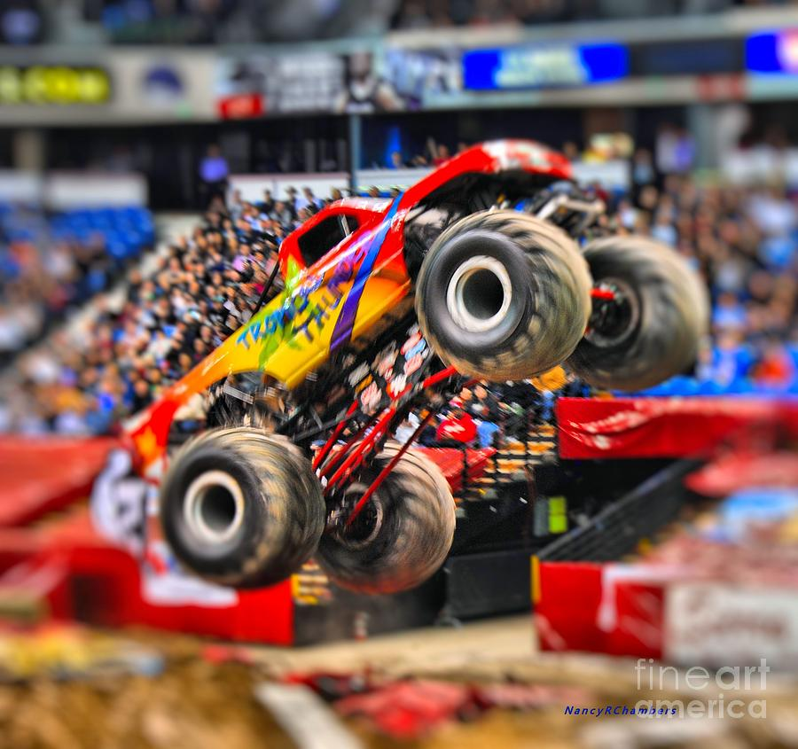 Monster Truck Photograph - Tropical Thunder by Nancy Chambers