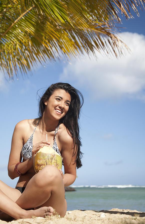 Beach Photograph - Tropical Vacationer by Brandon Tabiolo