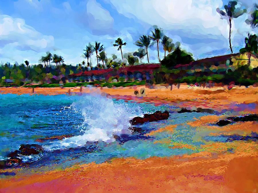 Tropical Waves by Carla Dreams