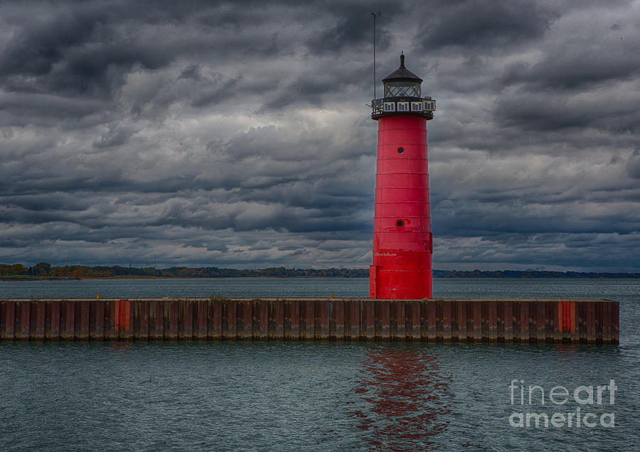 Canon Photograph - Troubled Skies by Ricky L Jones