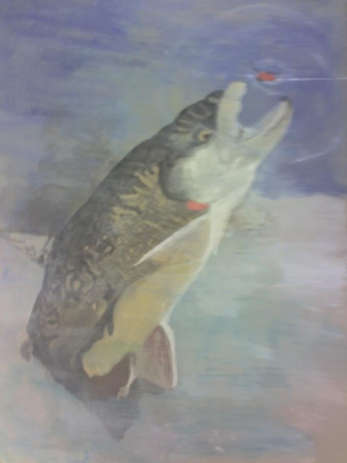 Trout Painting - Trout To Fly by Stephen Thomson