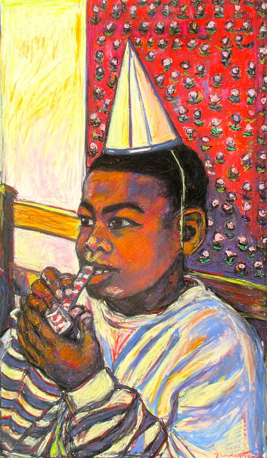 Boy Painting - Troy by Kendall Kessler