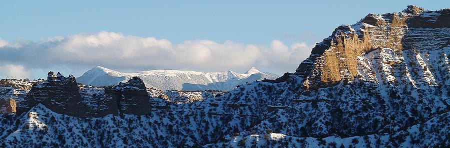 truchas peaks by Atom Crawford