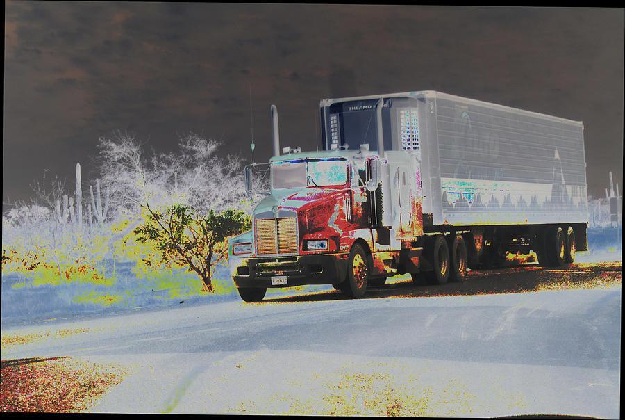 Truck Photograph - Truck by Astrid Lenz