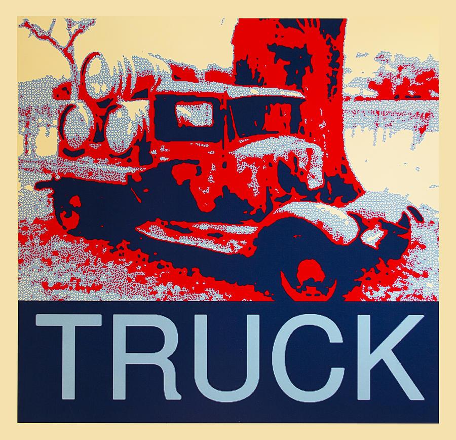 Truck Digital Art