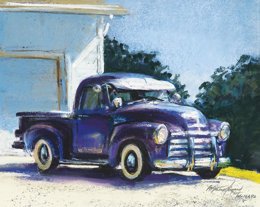 Truck Pastel - Truck by Beverly Amundson