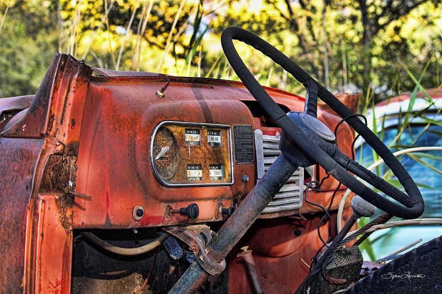 Truck Photograph - Truck Dash by Sylvia Thornton