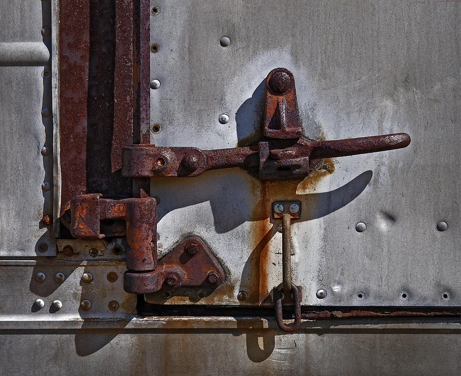 Truck Photograph - Truck Handle by Murray Bloom