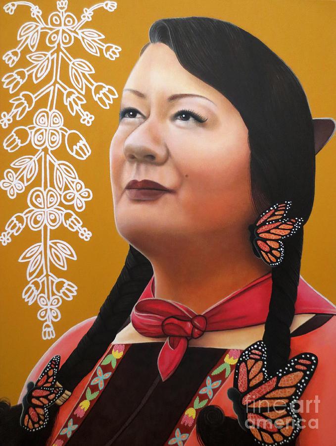 True Beauty - Jenny Blackbird by Malinda Prudhomme