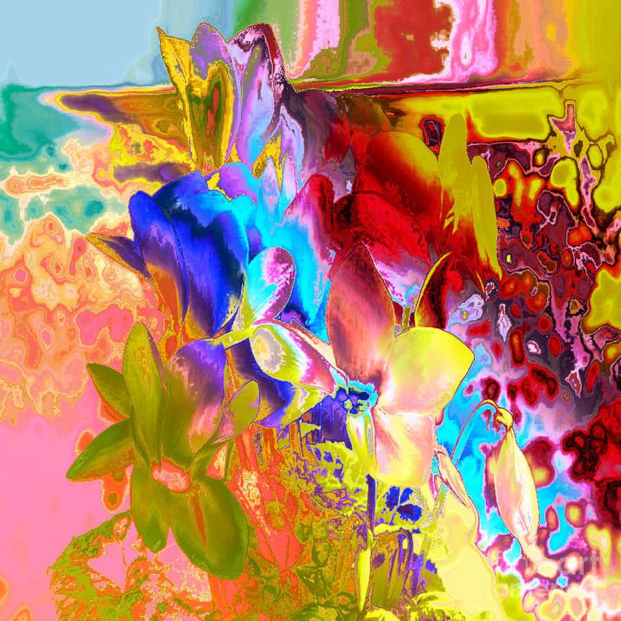 Flowers Digital Art - True Colours by Soumya Bouchachi