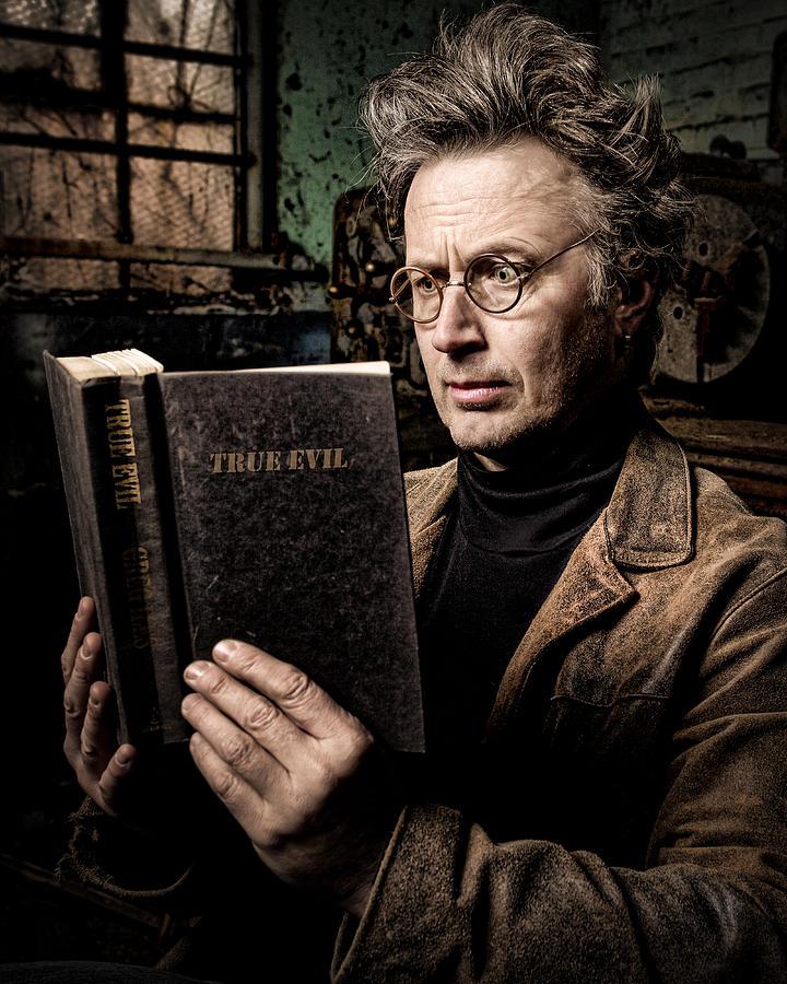 Evil Photograph - True Evil - Science Fiction - Horror by Gary Heller