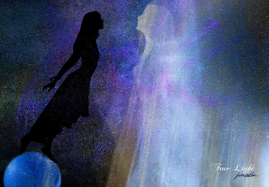 Acceptance Digital Art - True Light by Julie m Rae