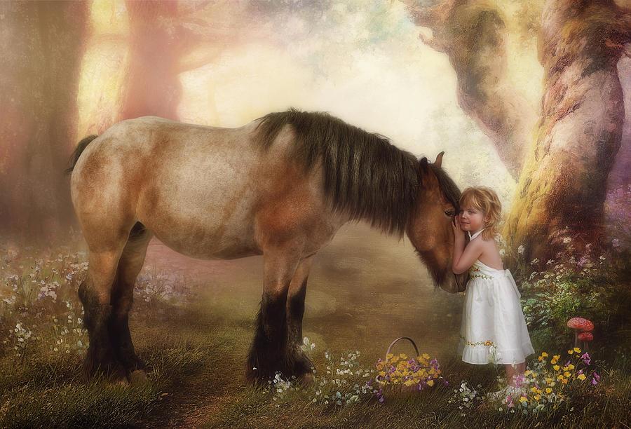 Horse Photograph - True Love by Cindy Grundsten